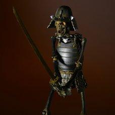 Takeyashiki Jizai Okimono KT-009 Samurai Skeleton (Iron Color Ver.) Non-Scale Figure
