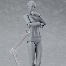 figma Archetype Next: She - Gray Color Ver. (Re-run)