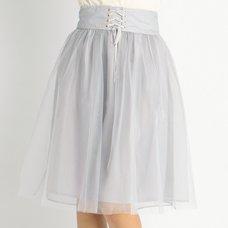 LIZ LISA Ballerina-Inspired Tulle Skirt