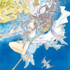 Kousuke Fujishima Signed Limited Edition Framed Oh My Goddess! Primagraphie Art Print: Celestial Reflection