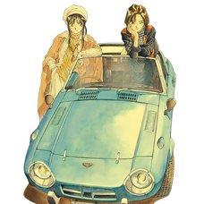 Kousuke Fujishima Signed Limited Edition Framed You're Under Arrest Primagraphie Art Print: Down-to-Earth Youths