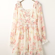 LIZ LISA Rose Pattern Dress