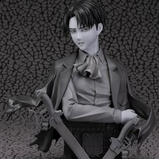 Attack on Titan Levi Bust: Gray Ver. 1/3 Scale Figure