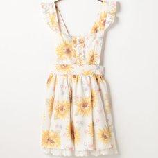 LIZ LISA Sunflower Jumper Skirt