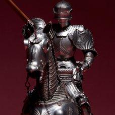 KT Project KT-027 Takeya Style Jizai Okimono: 15th Century Silver Gothic Equestrian Armor