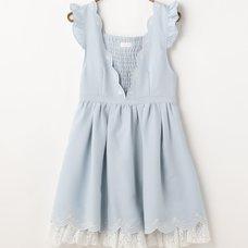 LIZ LISA Scallop Embroidered Jumper Skirt