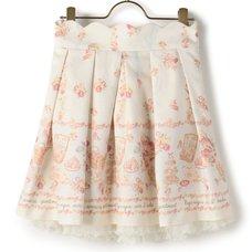 LIZ LISA Picnic Back Ribbon Skirt