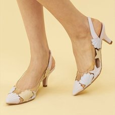 Honey Salon Shell High Heels (Lavender)