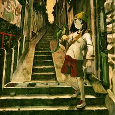 Yoshitoshi ABe 20th Anniversary Signed Premium Art Print - Dragon Trainer & City of Stairs