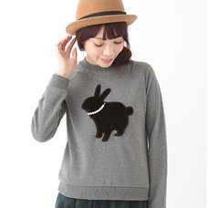 earth music&ecology Rabbit Pullover