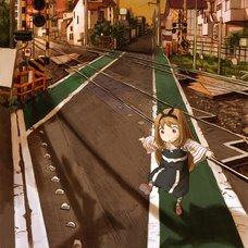 Yoshitoshi ABe 20th Anniversary Signed Premium Art Print - Shadow Crossing (Ryushika Ryushika)
