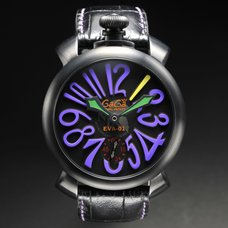 GaGa Milano Manuale 48mm Evangelion Unit-01 Watch