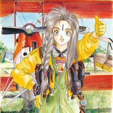 Kousuke Fujishima Signed Limited Edition Framed Oh My Goddess! Primagraphie Art Print: Spiraling Space