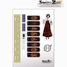 Steins;Gate Acrylic Divergence Meter - Ruka Urushibara Ver.