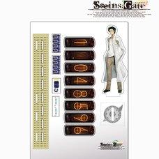 Steins;Gate Acrylic Divergence Meter - Rintaro Okabe Ver.