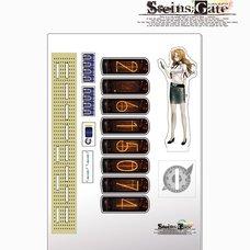 Steins;Gate Acrylic Divergence Meter - Moeka Kiryu Ver.
