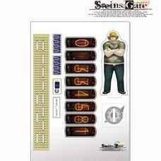 Steins;Gate Acrylic Divergence Meter - Itaru Hashida Ver.