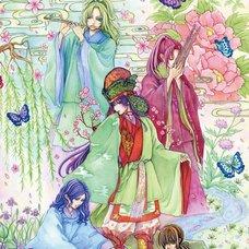 """Sakura Exhibition: yumamu """"Irodori 〜Colorful Japanese Court Music 〜"""" Poster"""