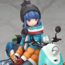 Laid-Back Camp Rin Shima w/ Scooter 1/10 Scale Figure