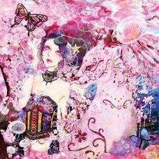"""Sakura Exhibition: akika """"Sakura Eudaimonia"""" Poster"""