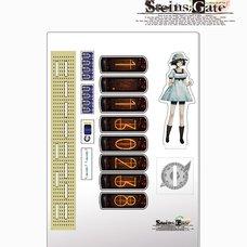 Steins;Gate Acrylic Divergence Meter - Mayuri Shiina Ver.