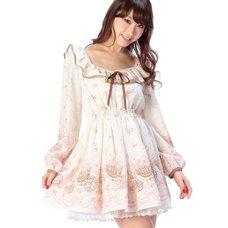 LIZ LISA Flower Wagon Pattern Dress