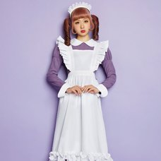 LLL Violet Maid Girl Cosplay Outfit