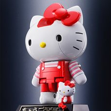 Chogokin Hello Kitty (Red Stripe Ver.)