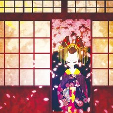 """Sakura Exhibition: shoko """"Haru-no-yosooi"""" Poster"""