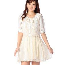 LIZ LISA Shirt & Skirt Effect Dress
