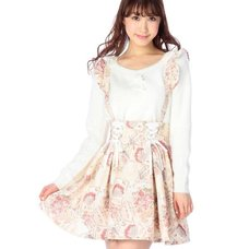 LIZ LISA Fairy Pattern Skirt