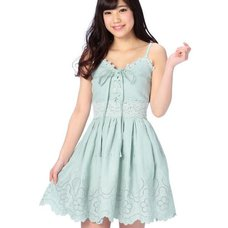 LIZ LISA Scallop Embroidered Dress