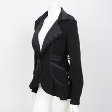 Rozen Kavalier Eyelet Tailored Jacket