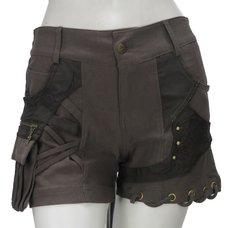 Ozz Croce Asymmetrical Shorts