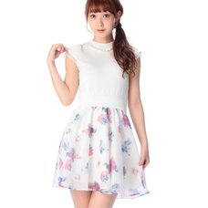 LIZ LISA Water Color Flower Dress