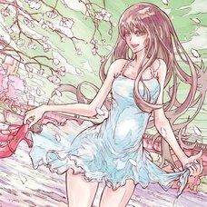 """Sakura Exhibition: shintaro """"Miyako River"""" Poster"""
