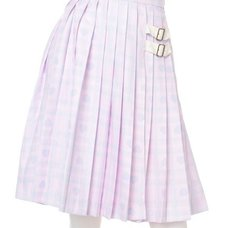 Swankiss Heart Check Skirt