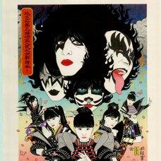 Momoiro Clover Z vs KISS Ukiyo-e w/o Signature
