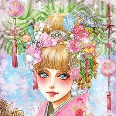 """Sakura Exhibition: Shirofukurosya """"Cover Girl"""" Poster"""