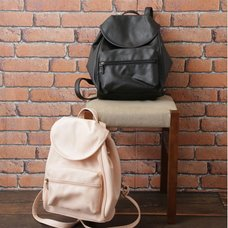 earth music&ecology Faux Leather Mini Backpack
