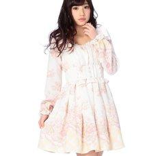 LIZ LISA Floral Panel One Piece Dress