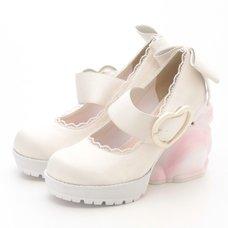 Swankiss Rabbit Heel Shoes