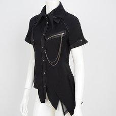 Ozz Croce 3-Collar Blouse