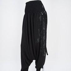 Ozz Croce Gear Print Sarouel Pants