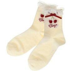 LIZ LISA Cherry Socks