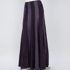 Rozen Kavalier Wrinkle Effect Long Skirt