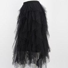 Rozen Kavalier Tulle Cascade Skirt