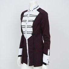Ozz Oneste Striped Cleric Shirt