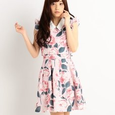 LIZ LISA Large Floral Pattern Dress