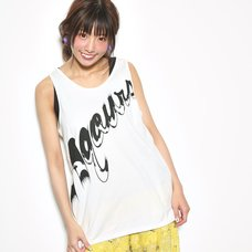 Love Live! Sunshine!! Aqours Black Logo Tank Top